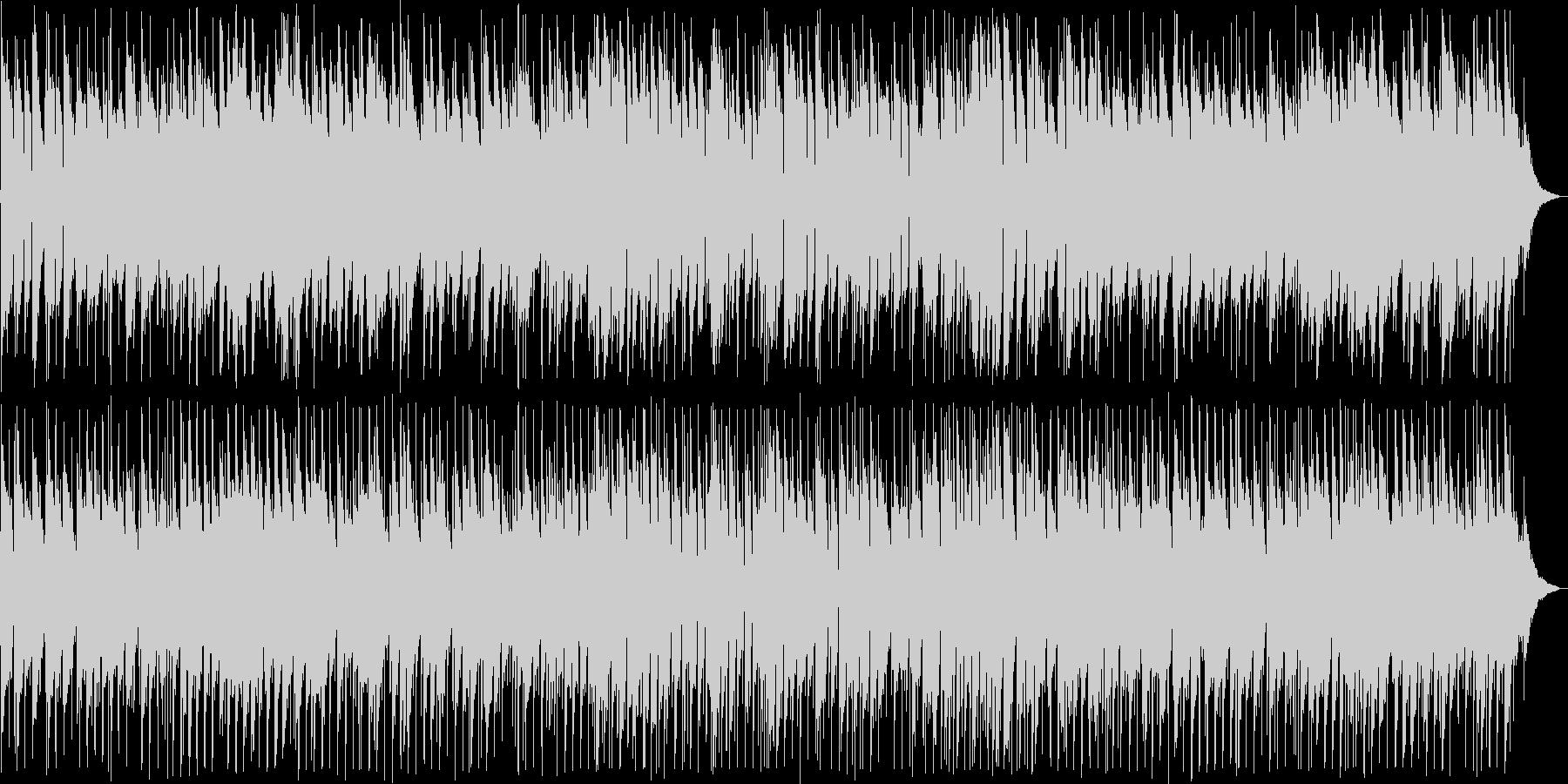 渋い感じのアコギのスローなブルースの未再生の波形