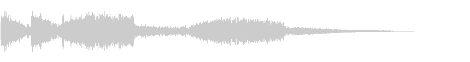リフトオフへのレーザーショットの未再生の波形