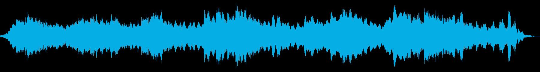 電気楽器。スペーシーな軌道サウンド...の再生済みの波形