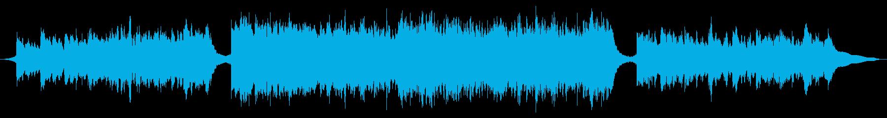 現代の交響曲 広い 壮大 厳Sol...の再生済みの波形
