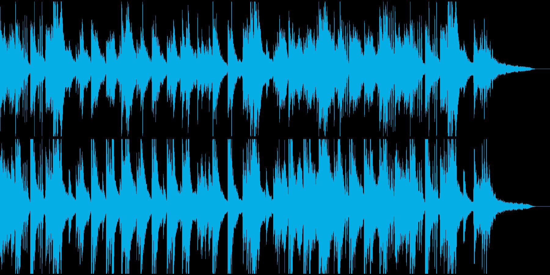 ストリングスと民族弦楽器。暖かで不思議。の再生済みの波形
