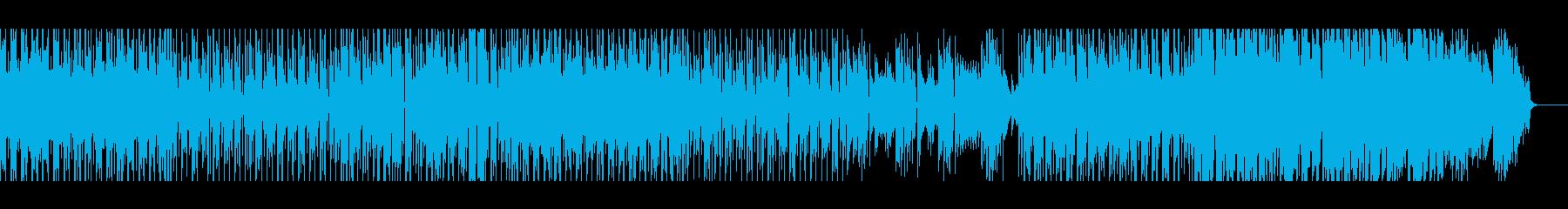 【パーカッション無し】スペーシーファンクの再生済みの波形