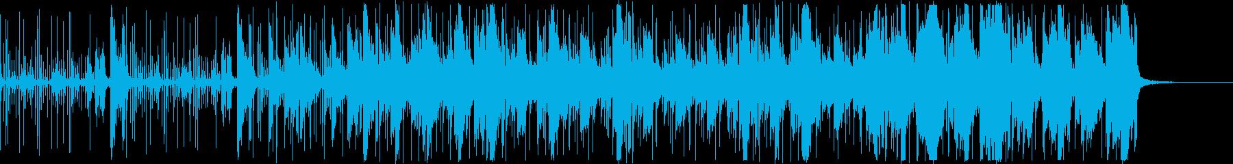 電子音・エレクトロニカ ハープ 切なげの再生済みの波形