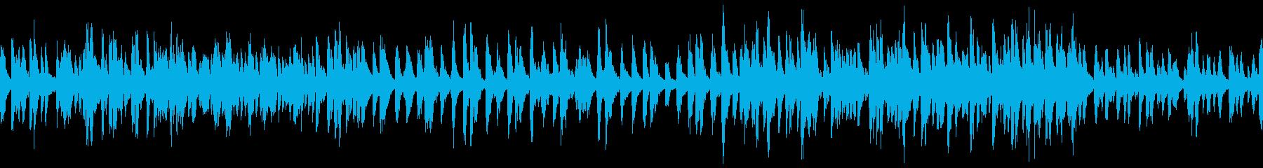 楽しい雰囲気の小人のBGM(ループ仕様)の再生済みの波形