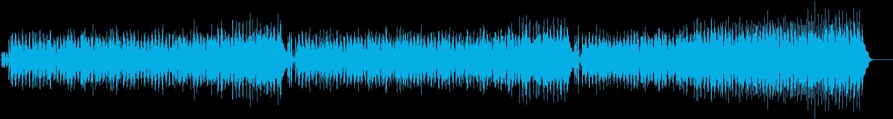スタイリッシュで清々しいボサノヴァ風の再生済みの波形