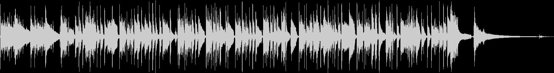 ドボルザークの名曲をソロギターアレンジの未再生の波形