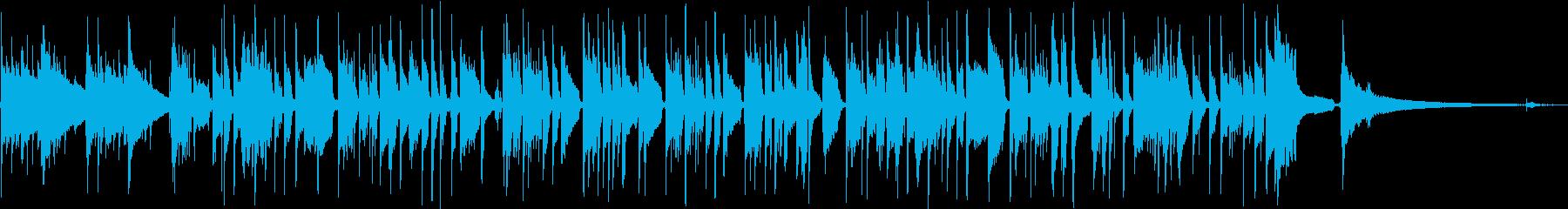 ドボルザークの名曲をソロギターアレンジの再生済みの波形