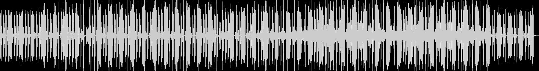 ほのぼのした可愛い曲の未再生の波形
