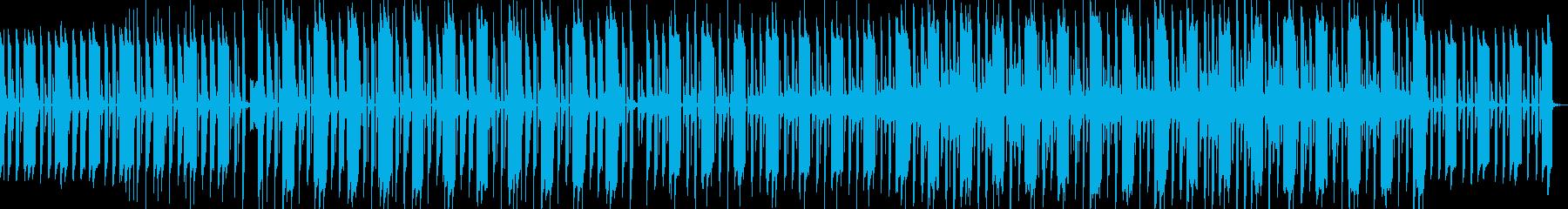 ほのぼのした可愛い曲の再生済みの波形