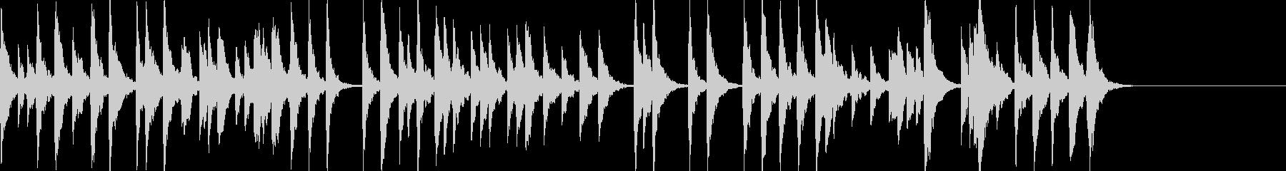 「スカボローフェア」オルゴールbpm66の未再生の波形