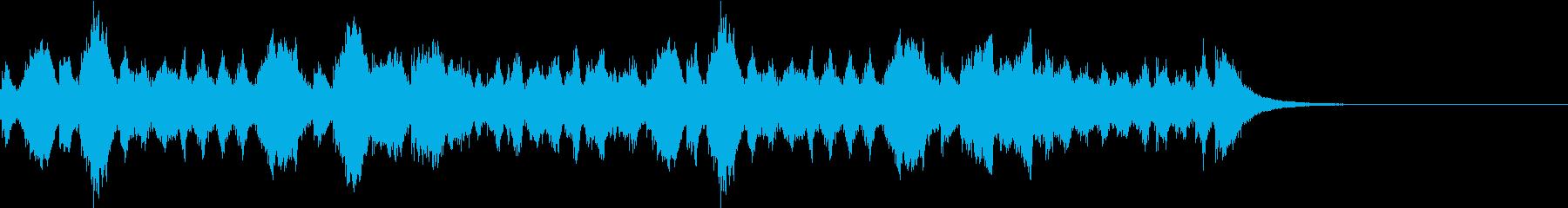 疾走感のある有名な行進曲  幻想交響曲の再生済みの波形