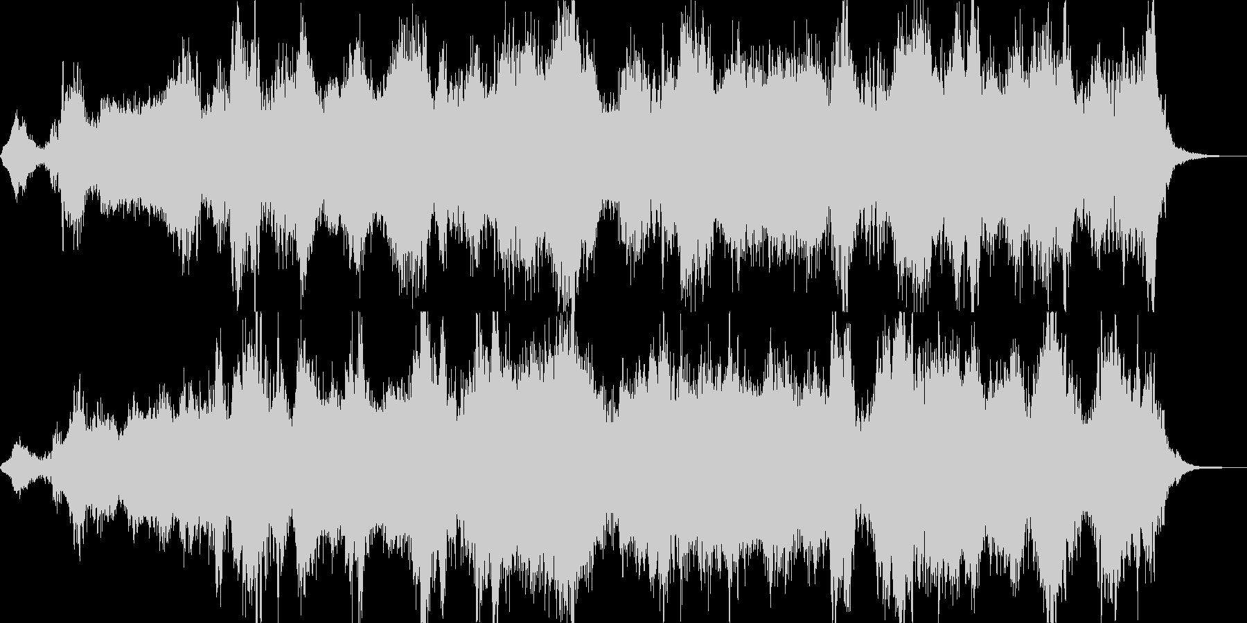 眠くなるアルファ波がでる癒しの音楽の未再生の波形