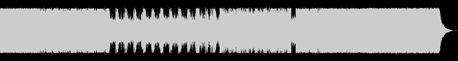 オーケストラ音源を使用した戦闘系の未再生の波形