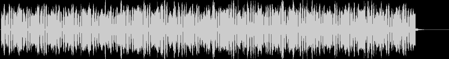 準備シーン向きメタルギターBGMの未再生の波形