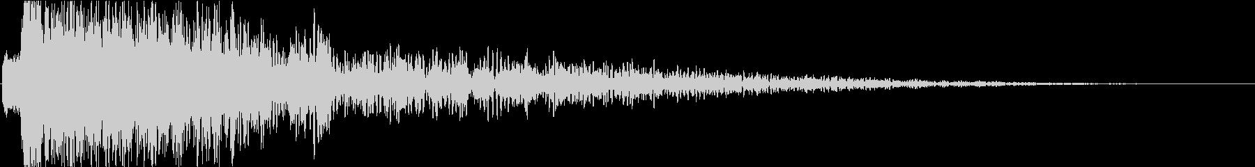 テレビ番組・CM・動画テロップ07の未再生の波形