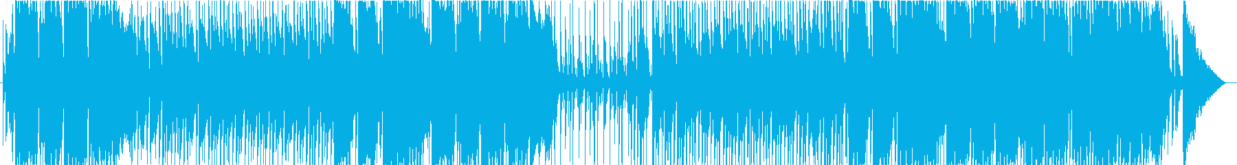 ポップな雰囲気のハミングバンドの再生済みの波形