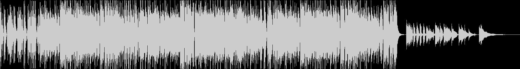 荒城の月のエレクトロファンクのアレンジの未再生の波形
