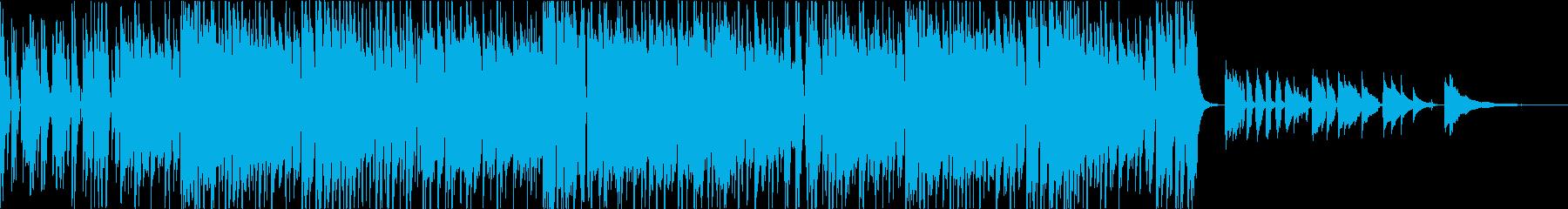 荒城の月のエレクトロファンクのアレンジの再生済みの波形