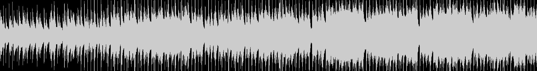 アコギと木管楽器の優しいBGMの未再生の波形