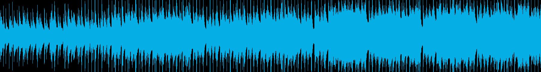 アコギと木管楽器の優しいBGMの再生済みの波形