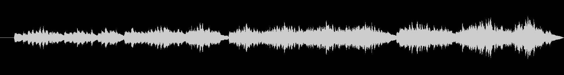 ピアノ、人の施術の練習、音楽FX;...の未再生の波形