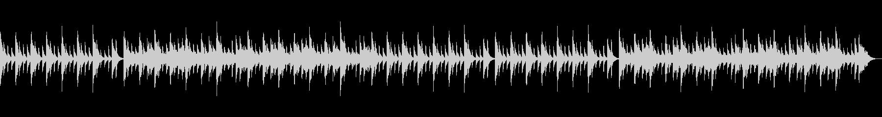安心する可愛らしい音色の未再生の波形