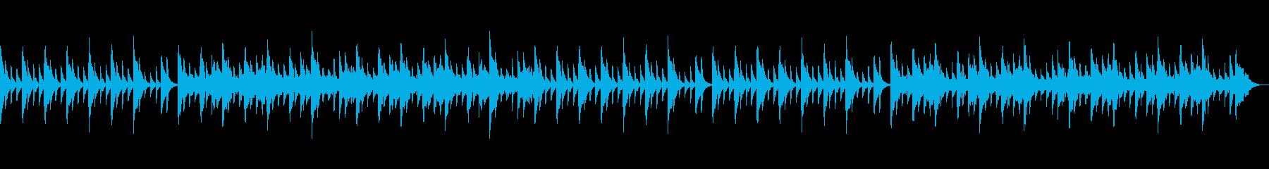安心する可愛らしい音色の再生済みの波形