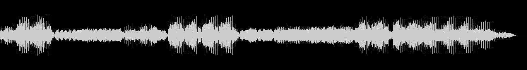 切ない女性ボーカルのフューチャーハウスの未再生の波形
