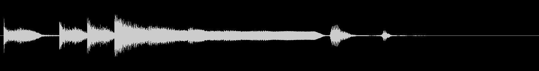 KANTファンファーレ2006072の未再生の波形