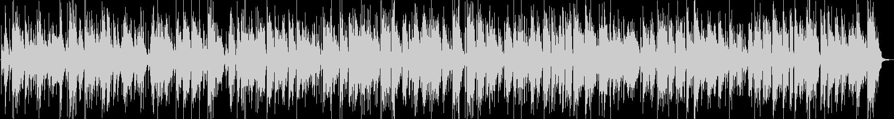 生演奏サックスとピアノのしっとりバラードの未再生の波形