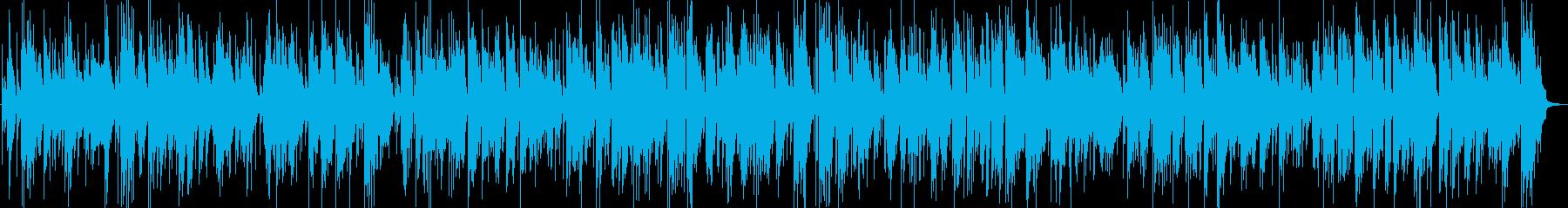 生演奏サックスとピアノのしっとりバラードの再生済みの波形
