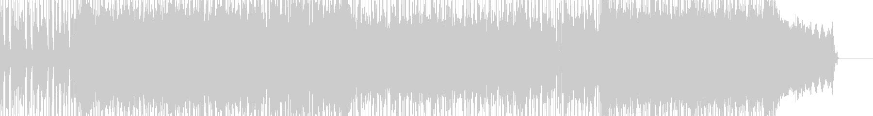 元気いっぱいなポップロックBGMの未再生の波形