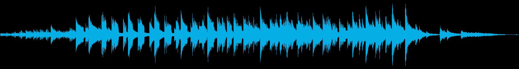 シンセサイザーとピアノで彩るストーリーの再生済みの波形