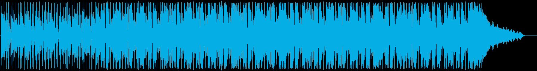 心落ち着くゆったりなメロディーの再生済みの波形