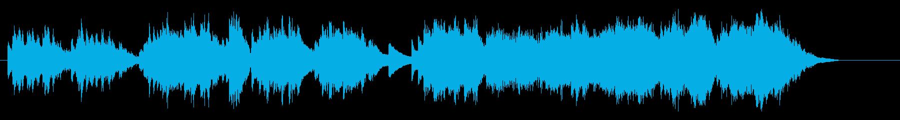 アンビエンス・タッチのピアノ・バラードの再生済みの波形
