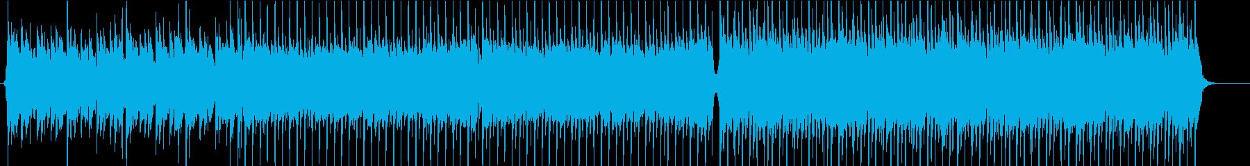 ファンタジーな可愛い曲の再生済みの波形