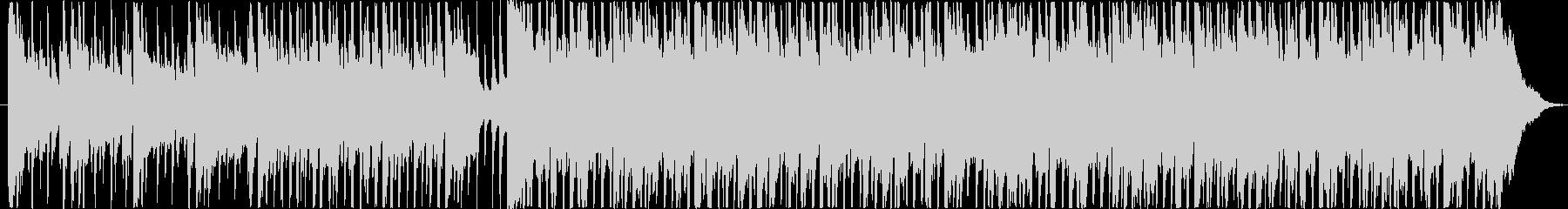 楽しい雰囲気のBGM(60秒ver)の未再生の波形