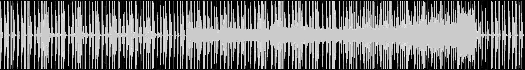 ループ、コミカル、ゆったり、シンセの未再生の波形