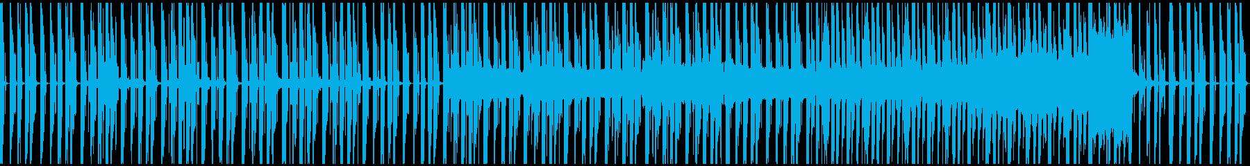 ループ、コミカル、ゆったり、シンセの再生済みの波形