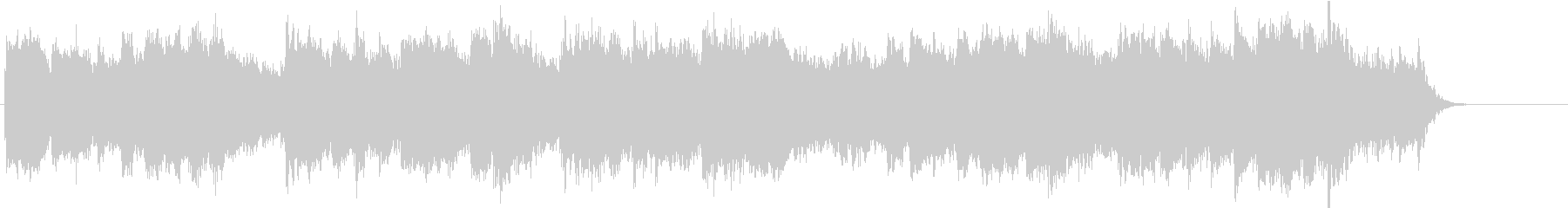 「こいのぼり」のオーケストラ風カバーの未再生の波形