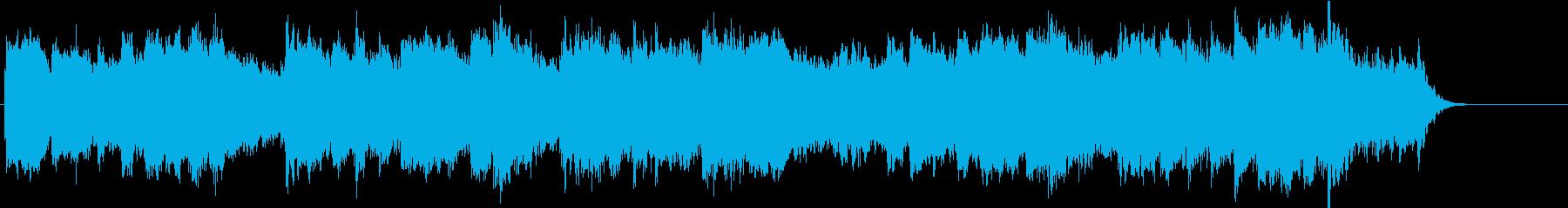 「こいのぼり」のオーケストラ風カバーの再生済みの波形