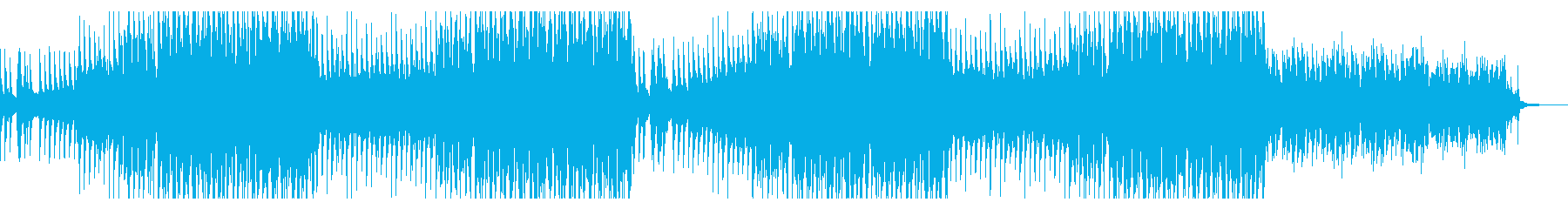 軽快で前進的なピアノとギターの音楽 ഒの再生済みの波形