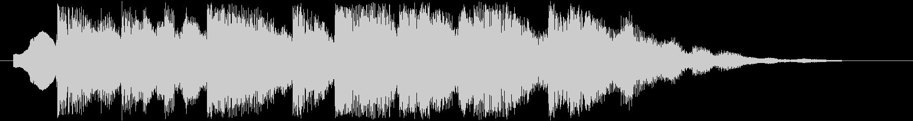 夜空のイメージ(ジングル、着信音などに)の未再生の波形