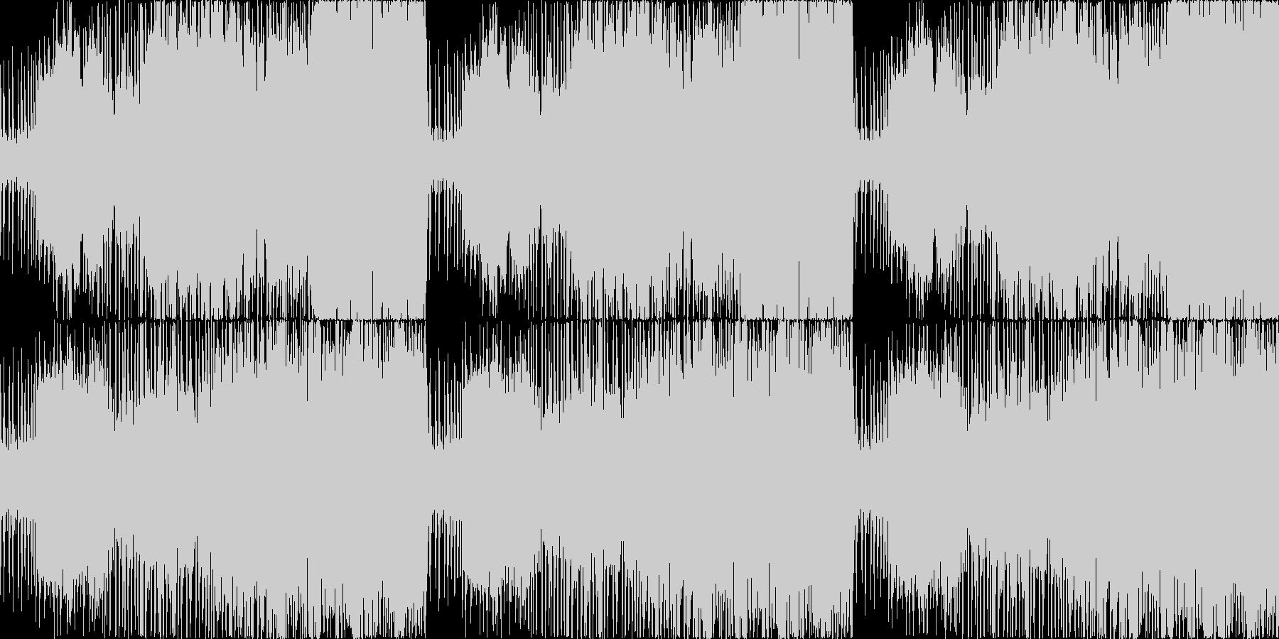 迫力のボス戦オーケストラ戦闘曲(修正版の未再生の波形