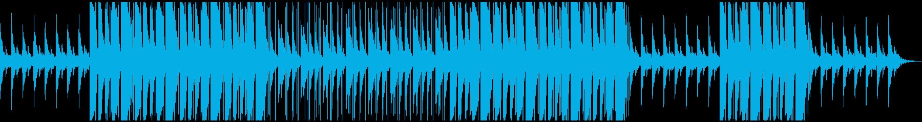 relax echo type beatの再生済みの波形
