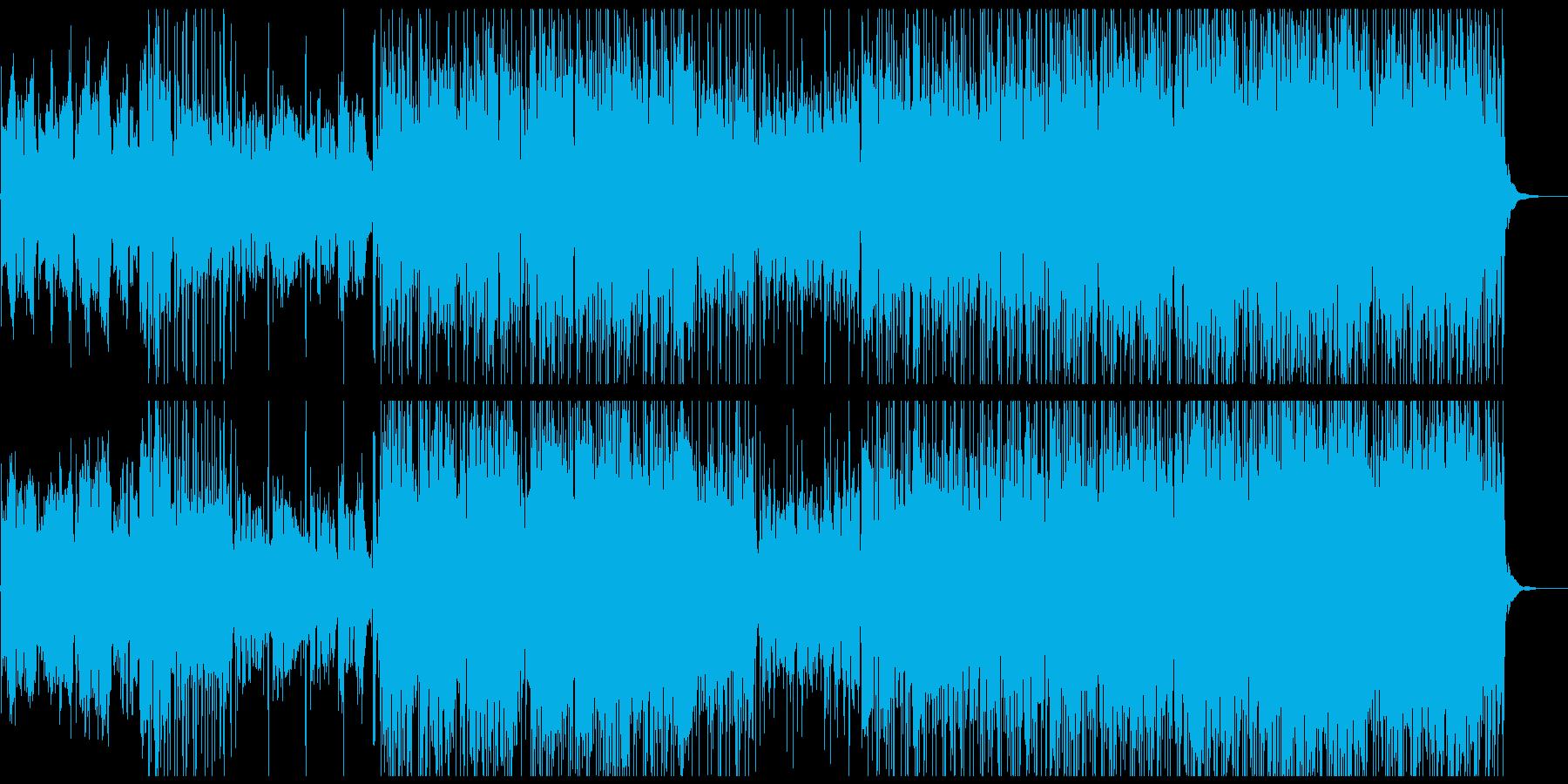 昼ドラの主題歌に使えそうな妖艶な楽曲の再生済みの波形