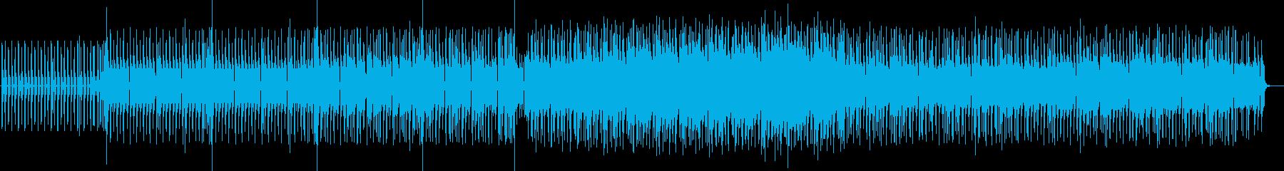 不思議さと温かみのあるミドルエレクトロの再生済みの波形