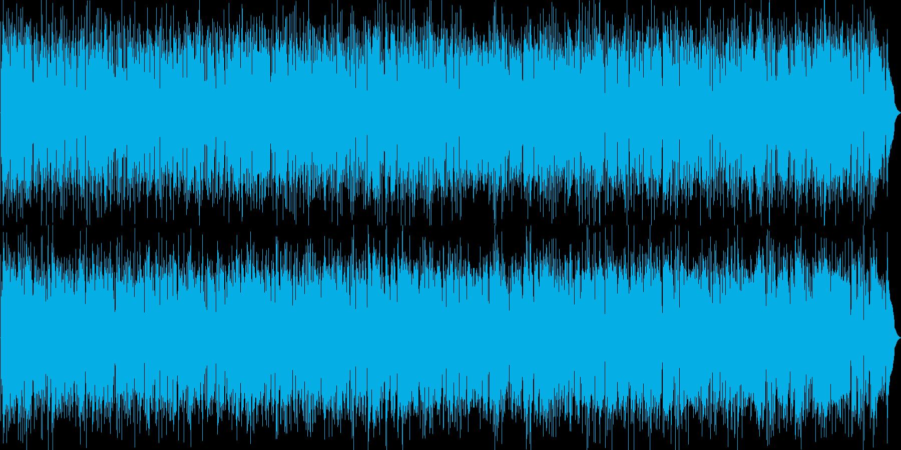 R&B、かっこいいアルトサックス都会の夜の再生済みの波形