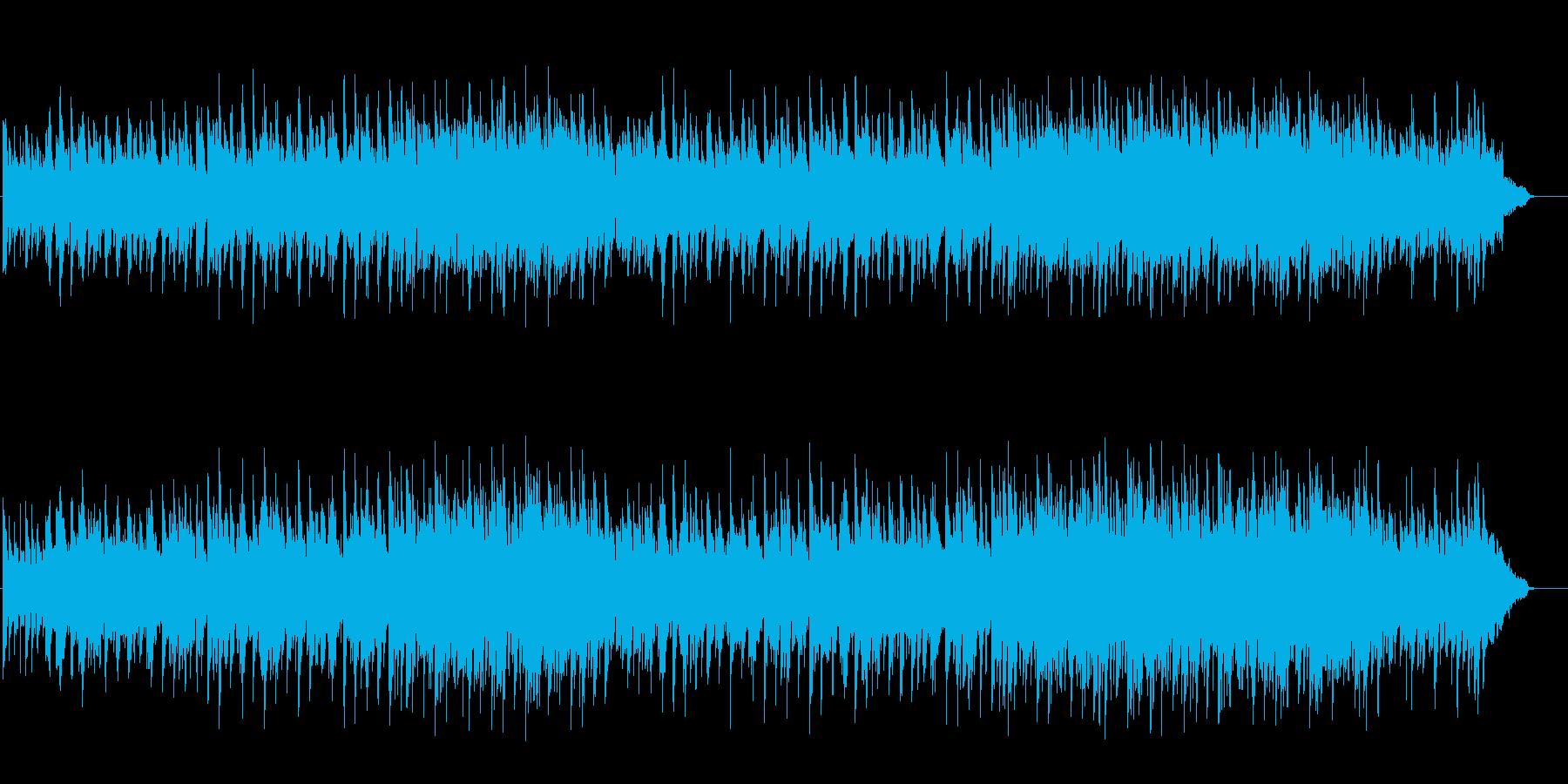 若い二人の愛のピアノ・バラードの再生済みの波形