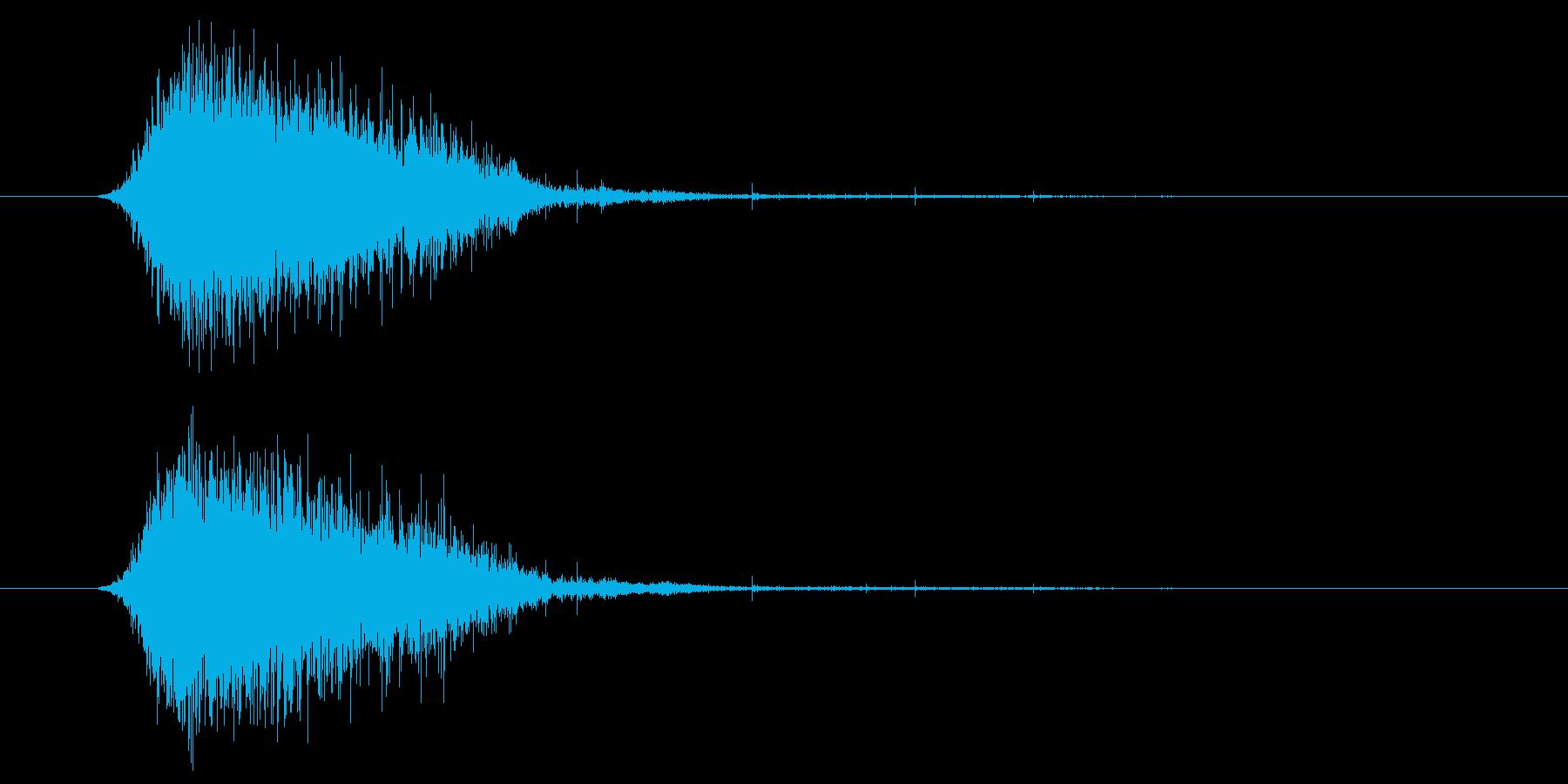 トランジション フラッシュ01の再生済みの波形